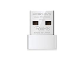 TARJETA DE RED USB MERCUSYS MW150US INALAMBRICA 150 MBPS 802.11N / G / B TAMANO