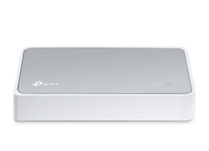 Switch de escritorio TP-LINK, TL-SF1008D, 8 puertos Ethernet, No administrable.