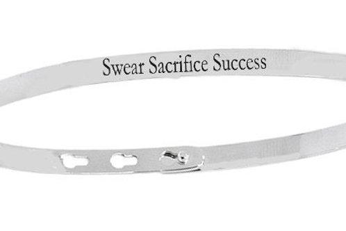 SWEAR SACRIFICE SUCCESS