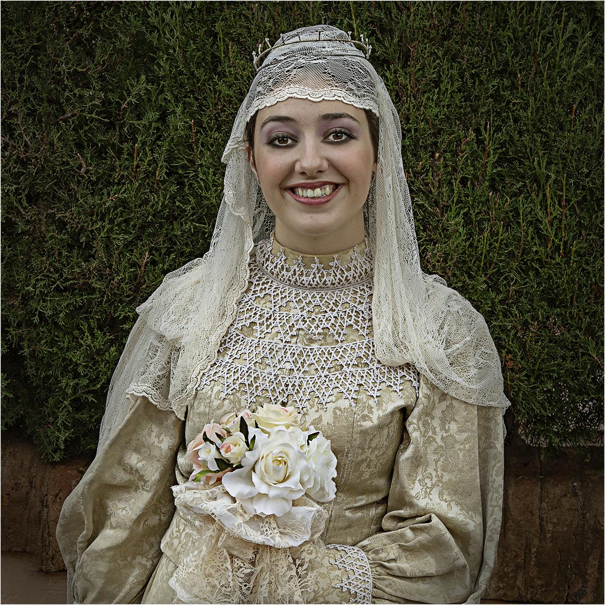 La núvia...és maca, maca