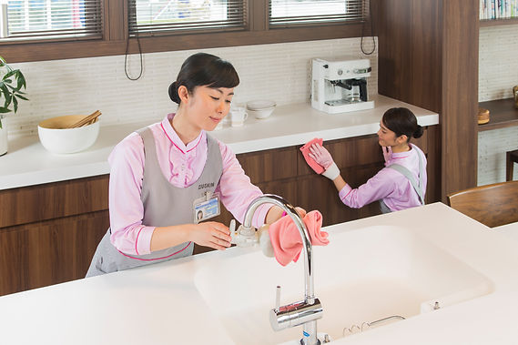 プロのお掃除「キッチン」