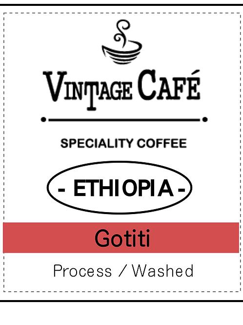 エチオピア ゴティティ 中深煎り