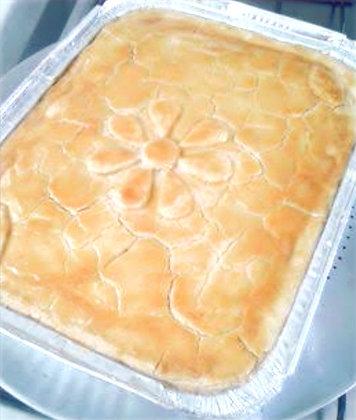 Torta Salgada de Palmito na Marmita