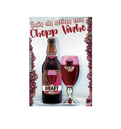 Chopp de Vinho Tinto Draft