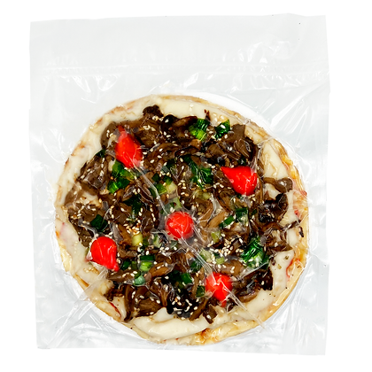 Pizza Mix de Cogumelos Pop Vegan