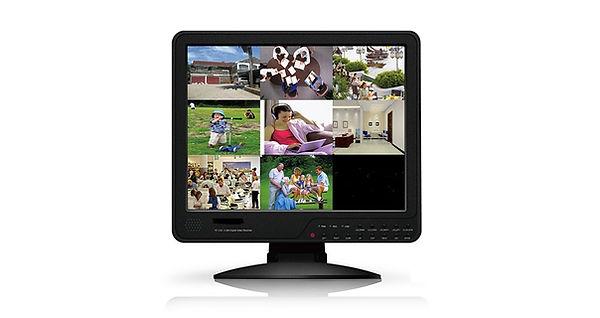 CCTV Monitor DVR Combination