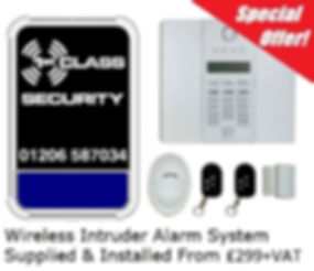 Visonic Alarm Essex £199 + vat