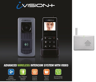 Wireless video intercom for the elderly or physically impaired