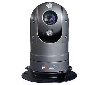 Vehicle mounted PTZ camera