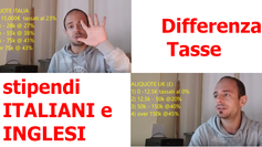 Differenza TASSE tra stipendi ITALIANI e INGLESI