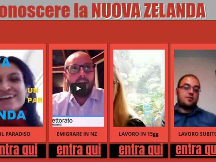 Conoscere la NUOVA ZELANDA attraverso italiani che la vivono