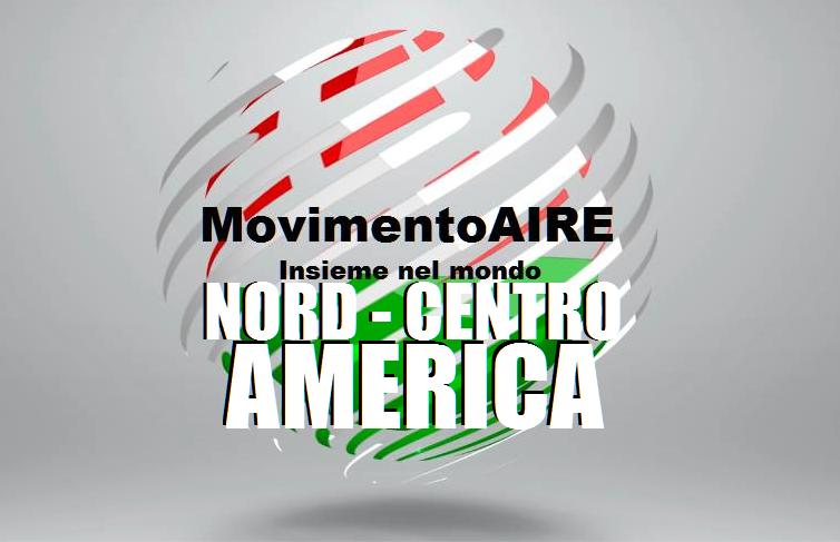 AMERICA nord centro logo maire movimento aire