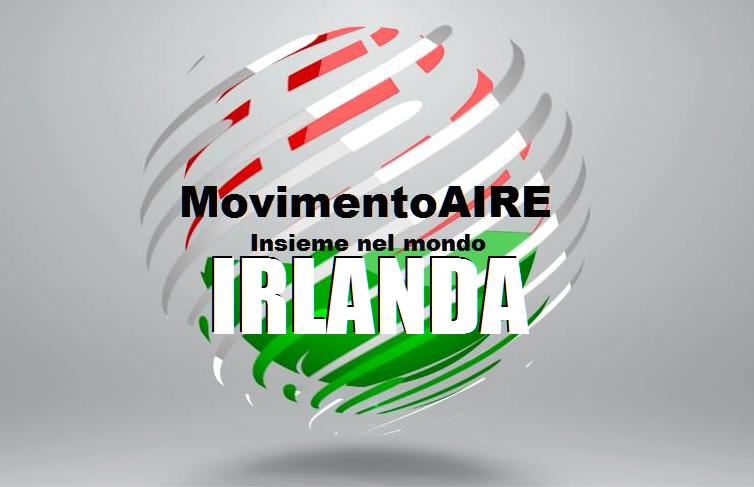 IRLANDA OK logo maire movimento aire