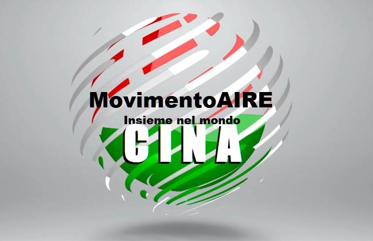 CINA logo maire movimento aire