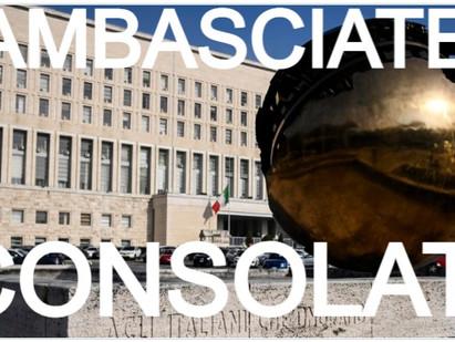 Farnesina, nominati ambasciatori i ministri plenipotenziari