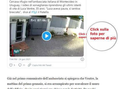 Cosa  ancora non sappiamo della sulla morte di Luca Ventre a Montevideo?
