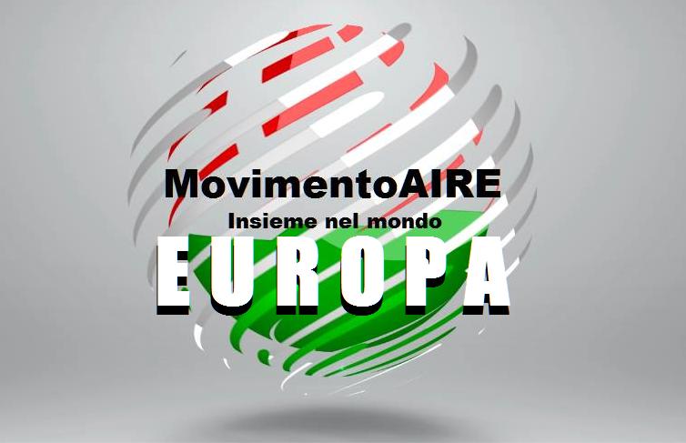 EUROPA logo maire movimento aire