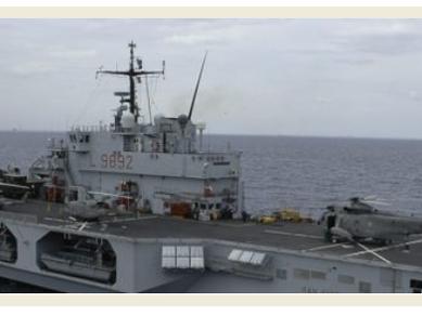 Irini: Nave San Giorgio è flagship dell'operazione Europea EUNAVFORMED