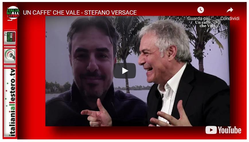 Dall'AMERICA, Stefano Versace ci presenta la sua nuova idea tutta MADE IN ITALY