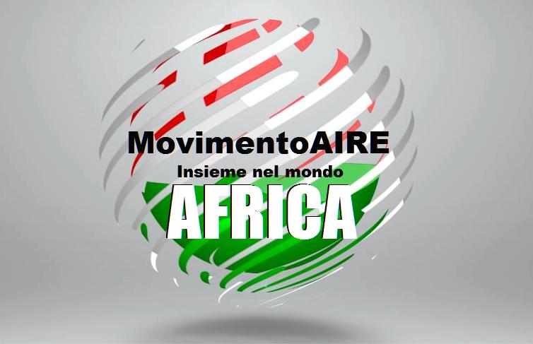 AFRICA logo maire movimento aire