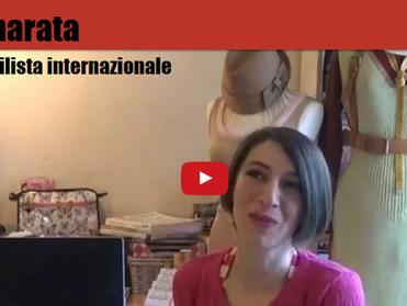 Eva Cammarata 'Stilista Internazionale' nella 'Rosa dei Talenti' italiani all'es