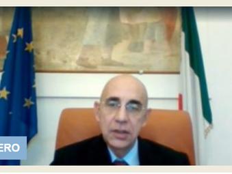 """ITALIANI ALL'ESTERO In collegamento a """"l'Italia con Voi"""", l'ambasciatore d'Italia in Germania"""