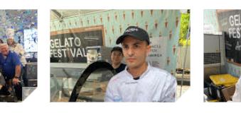 Un Italiano dal Texas per la finale del Gelato Festival Masters (In Toscana 2021)