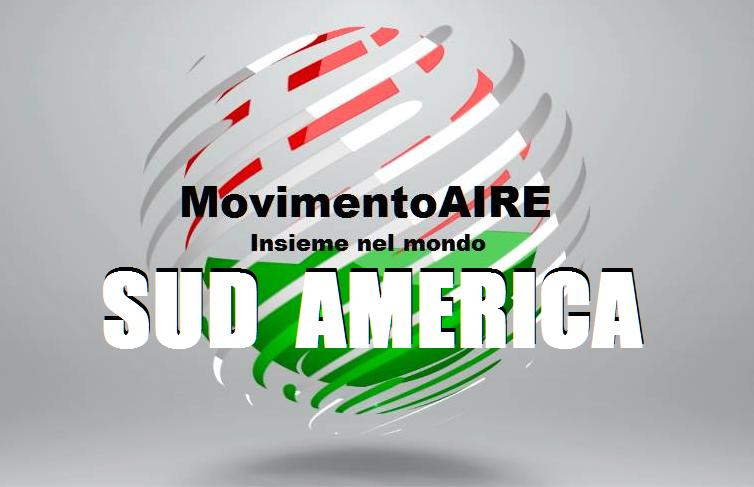 sud aMERICA logo maire movimento aire
