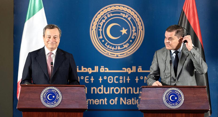 Così il presidente del Consiglio Mario Draghi, in missione in Libia con il ministro degli Esteri Luigi Di Maio, nella conferenza stampa congiunta dopo l'incontro con il primo ministro Abdelhamid Dabaiba, svoltosi a Tripoli il 6 aprile.