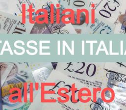 Quali sono le tasse sui redditi in Italia a carico degli italiani in UK?