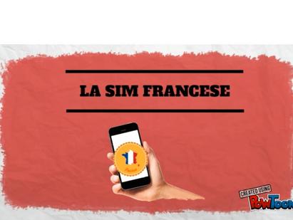 Vado a Vivere in FRANCIA - La Sim Card