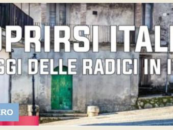 Domani il webinar : Scoprirsi italiani: i viaggi delle radici in Italia: Speciale USA