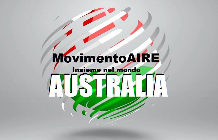 logo maire movimento aire AUSTRALIA OK
