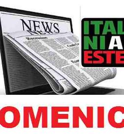 RASSEGNA STAMPA - mercoledi - ITALIANI ALL'ESTERO TV