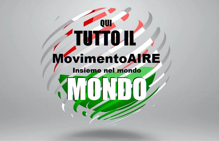 MONDO logo maire movimento aire