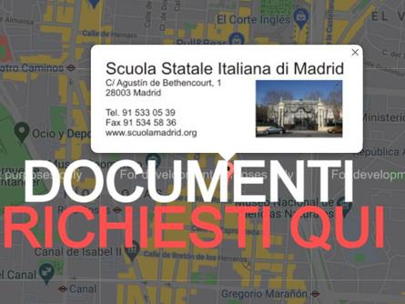 Scuola Statale Italiana di Madrid: avviso selezione personale docente a tempo indeterminato
