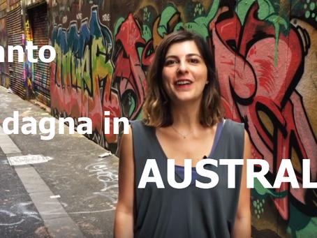 Quanto si GUADAGNA in AUSTRALIA? ITALIANI ALL'ESTERO TV