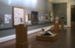 View of installation at the Johannesburg Art Gallery