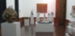 View of Room 2with works created by womenat the Johannesburg Art Gallery