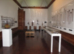 View of Room 1 with works created by menat the Johannesburg Art Gallery