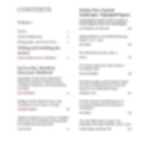 Contents Volume 1