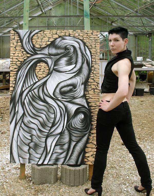 Live Painting mit Auktion