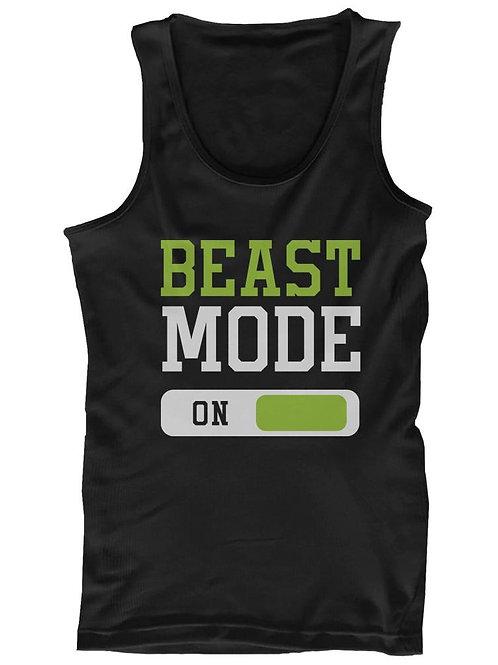 Beast Mode Men's Workout Tanktop Work Out Tank Top Fitness Clothe Gym Shirt