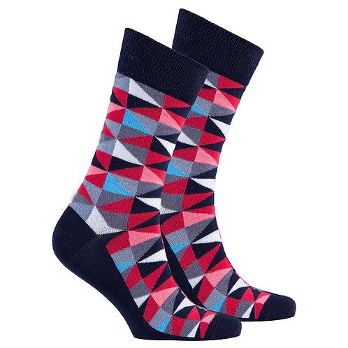 Men's Red Triangle Socks
