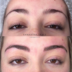 Stephanie front brows