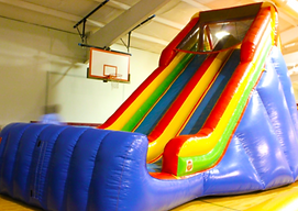 19Ft Double Lane Slide