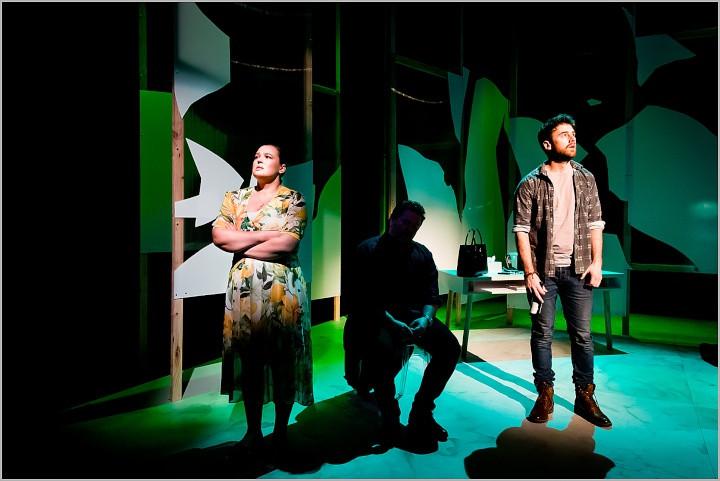 LIGHTING DESIGN - LISA MAULE. Anahera by Emma Kinane, Circa Theatre 2017. Image by Philip Merry