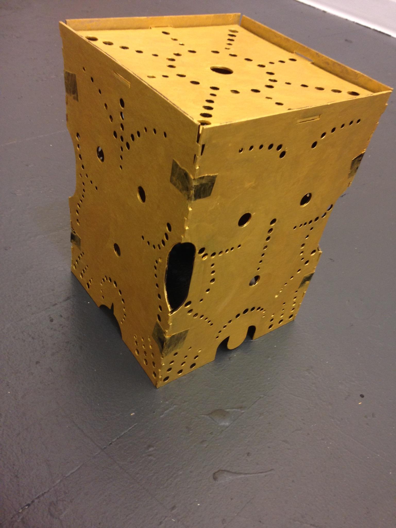 Human Form Lampshade -Prototype