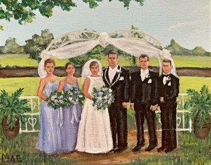 Caple Wedding - Racket Club, Lake Charles, LA