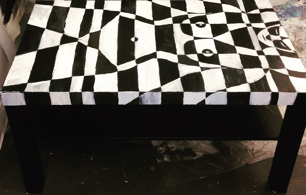 Machine Lady Coffee Table